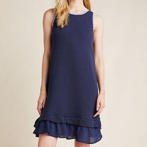 Anthropologie Morgan Knit Tiered Sleeveless Dress